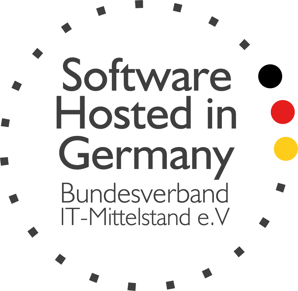 Auszeichnung: Software hosted in Germany